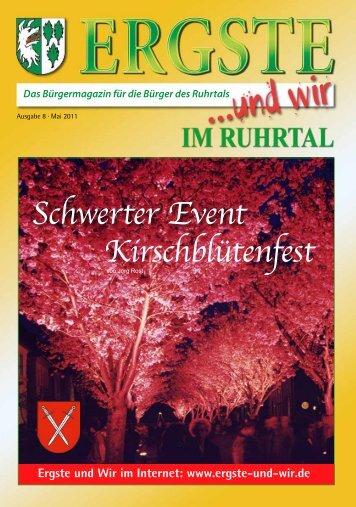 Schwerter Event Kirschblütenfest - Ergste und Wir im Ruhrtal