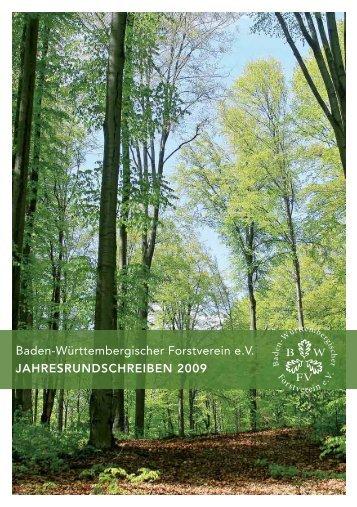 Jahresrundschreiben_09:Layout 1 - Deutscher Forstverein