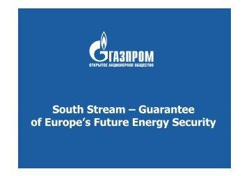 (Microsoft PowerPoint - South Stream SPb_\357\345\360 ... - Gazprom