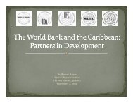 here - Caribbean Centre for Money and Finance
