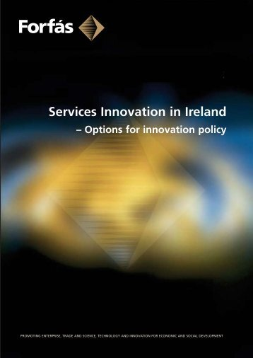 Services Innovation in Ireland - Options for ... - Europe INNOVA