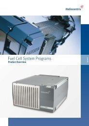 Fuel Cell System Programs - Fuel Cell Markets