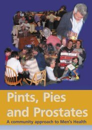 Pints, Pies and Prostates - Gloucestershire Boys & Young Men ...
