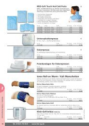 torex Roll-on Warm / Kalt Manschetten - Frei AG
