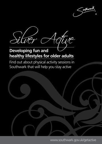 Silver Active booklet - Fusion Lifestyle