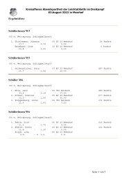 Ergebnisliste Abendsportfest 2012 (pdf) - BC 23 Meerhof