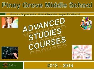 Advanced Studies Presentation (PDF)