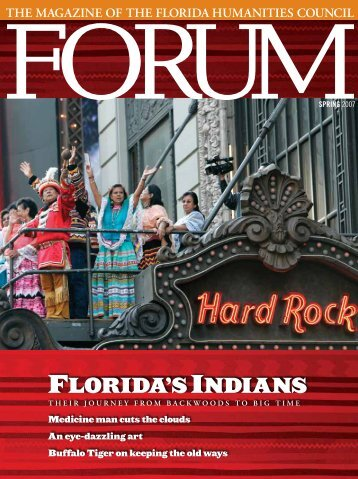 FLORIDA'S INDIANS - Florida Humanities Council