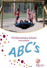 FIS Elementary School - Frankfurt International School