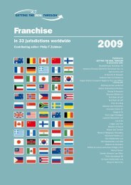Franchising Laws - Singapore - International Franchise Association