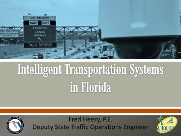 LESS Session ITS - Florida Transportation Builders