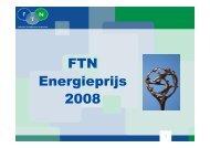 FTN Energieprijs 2008
