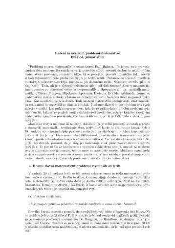 besedilo - Fakulteta za matematiko in fiziko