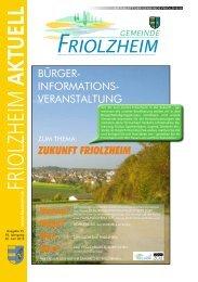 Blättle KW 25 - Friolzheim