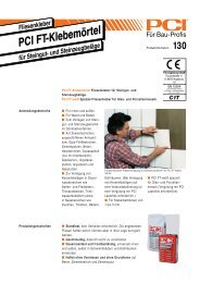PCI FT-Klebe - Fliesen Lerche