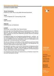 Programm Mueritz 2011 - Forum Unna