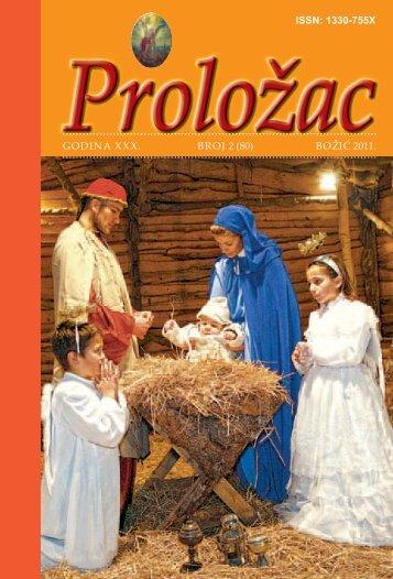 GODINA XXX. BROJ 2 (80) BOžIć 2011. ISSN: 1330-755X