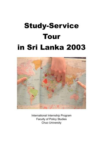 Study-Service Tour in Sri Lanka 2003