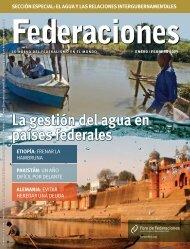 La gestión del agua en países federales - Forum of Federations