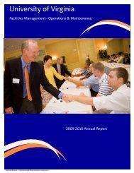 2009-2010 Annual Report bw121710.pub - Facilities Management ...