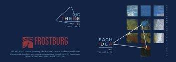 Visual Arts Booklet - Frostburg State University