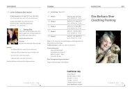 Das Barbara Sher Coaching Training - Der frankfurter ring