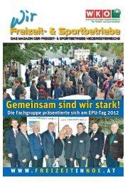 Fachgruppen-Magazin Ausgabe November 2012