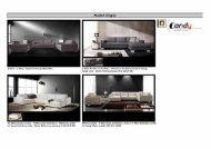 Candy Polstermöbel Livigno-Typenplan als PDF-Download