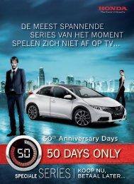 50 DAYS ONlY - Honda