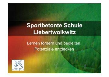 Sportbetonte Schule Liebertwolkwitz