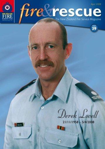 Derek Lovell - New Zealand Fire Service