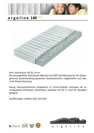Optimo Ergoline Matratzen - FRISCHMANN Wohnarchitektur