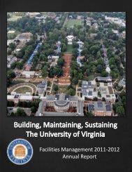 Facilities Management 2011-2012 Annual Report