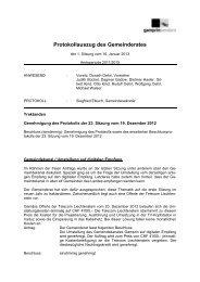 Gemeindekanal / Umstellung auf digitalen Empfang