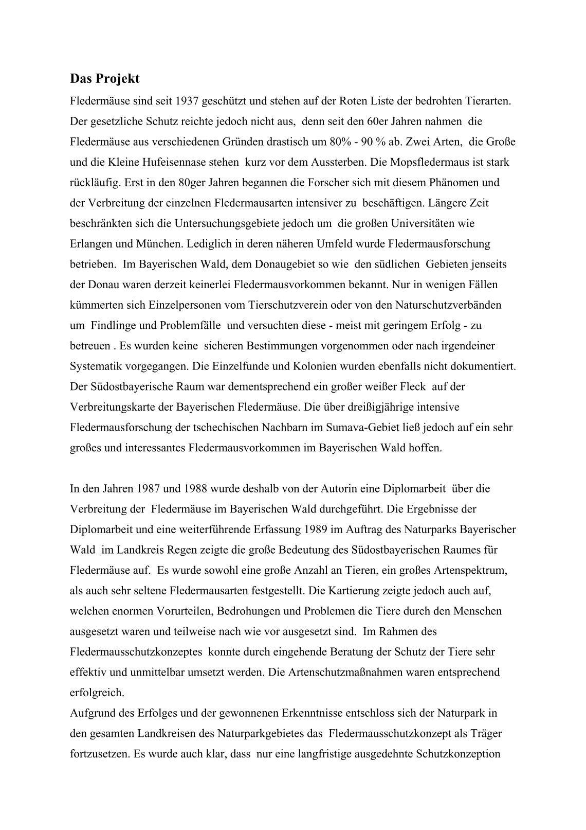 40 free Magazines from FLEDERMAUS.BAYERN.DE