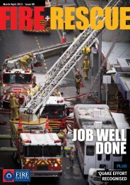 'QUAKE EFFORT RECOGNISED Plus - New Zealand Fire Service