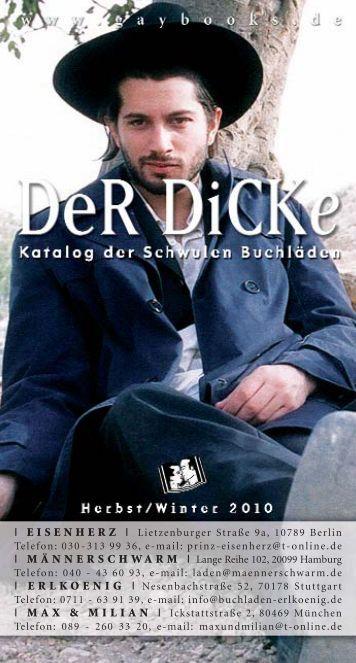   EISENHERZ   Lietzenburger Straße 9a, 10789 Berlin ... - Gaybooks
