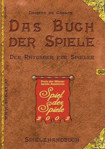 Spielehandbuch 2002 - Österreichisches Spiele Museum