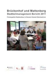 Bericht Stadtteilmanagement 2011 - Frauentreff Brückenhof