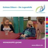 Kinderwohngruppe @Home - Schloss Dilborn - Die Jugendhilfe