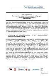 Seite 1 von 4 Stellungnahme zum Gesetz zur Neuordnung der ...