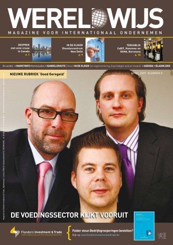 De voeDingssector kijkt vooruit - Flanders Investment & Trade