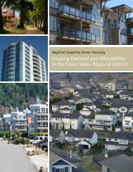 Housing Demand and Affordability in the Fraser Valley Regional ...