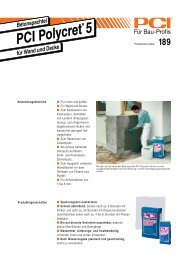 PCI Polycret 5 - Fliesen Lerche