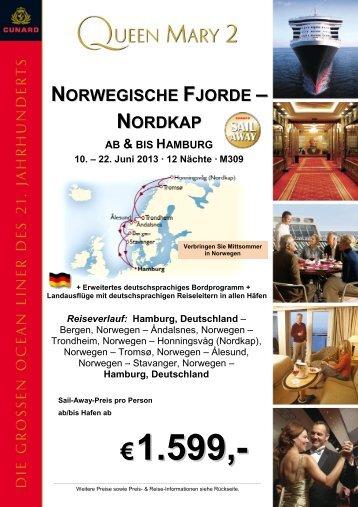 Norwegische Fjorde, Nordkap