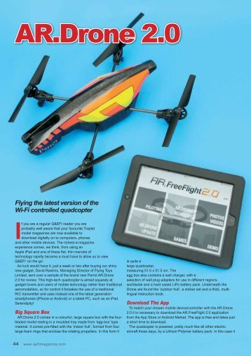 Q&EFI Sept 2012 - Flying Toys Ltd