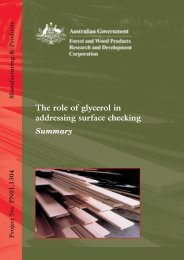 glycerol - summary.pdf - Forest and Wood Products Australia