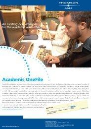 Academic OneFile - Galeuk.com galeuk
