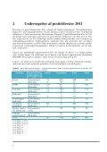 Pesticidrester i fødevarer 2011 - Fødevarestyrelsen - Page 6