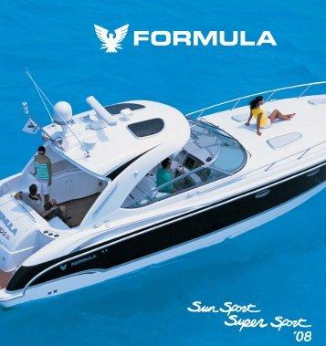 2008 Formula Sun Sport Brochure - Formula Boats